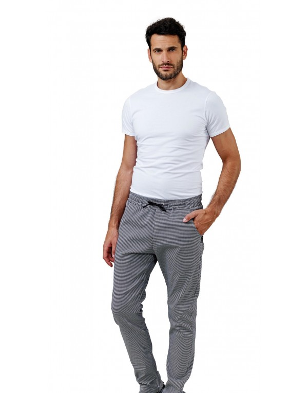 Pantalon bucătar CLEM elasticizat