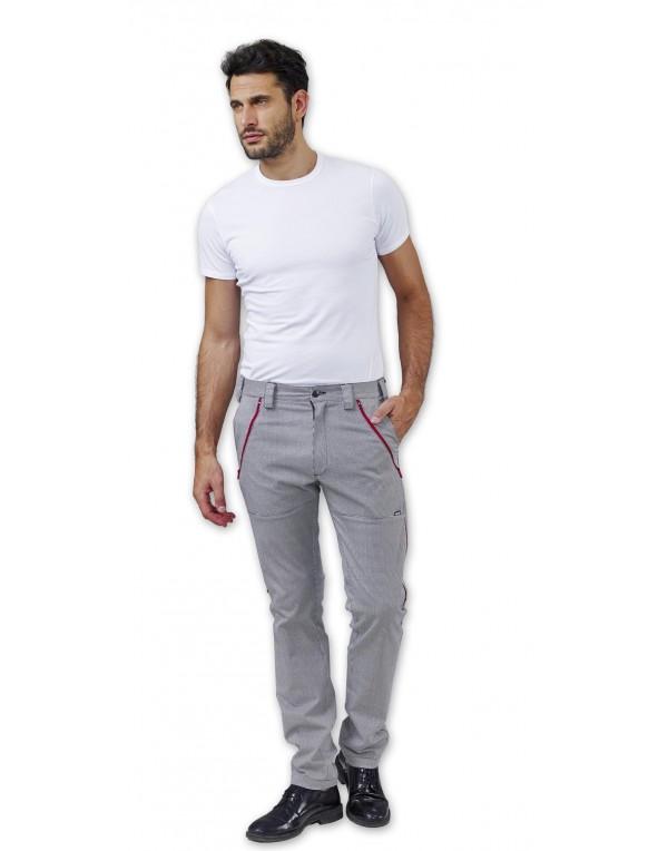Pantalon bucătar TRINITY 3 mărimi în 1