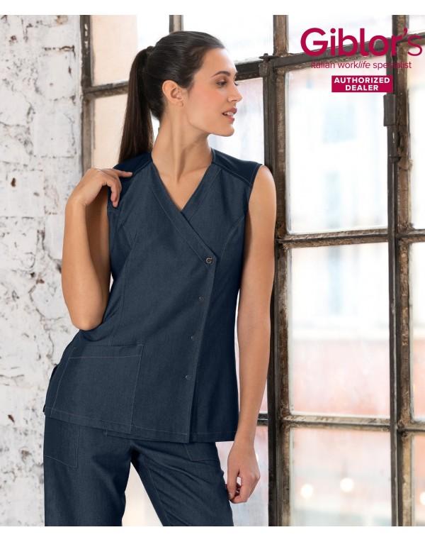 Bluză femei FRENCY silk jeans