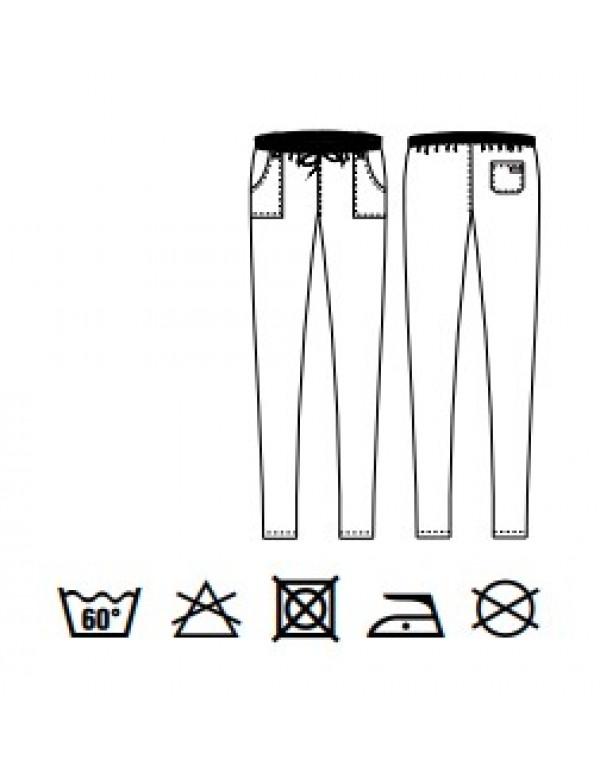 Pantalon bucătar SAUL silk jeans