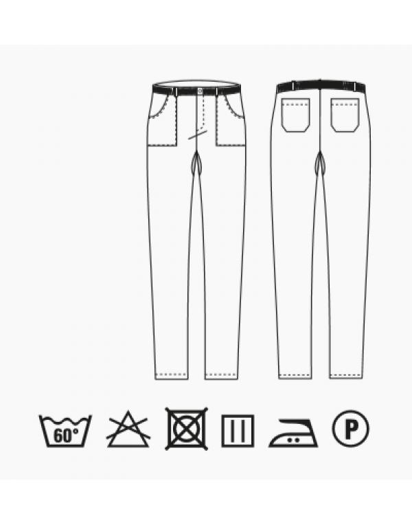 Pantalon bucătar ENOCH elasticizat