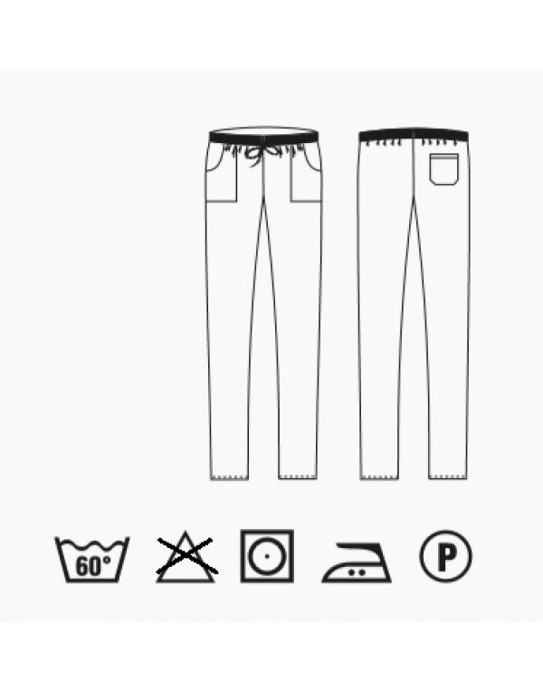 Pantalon bucătar ENOCH gri
