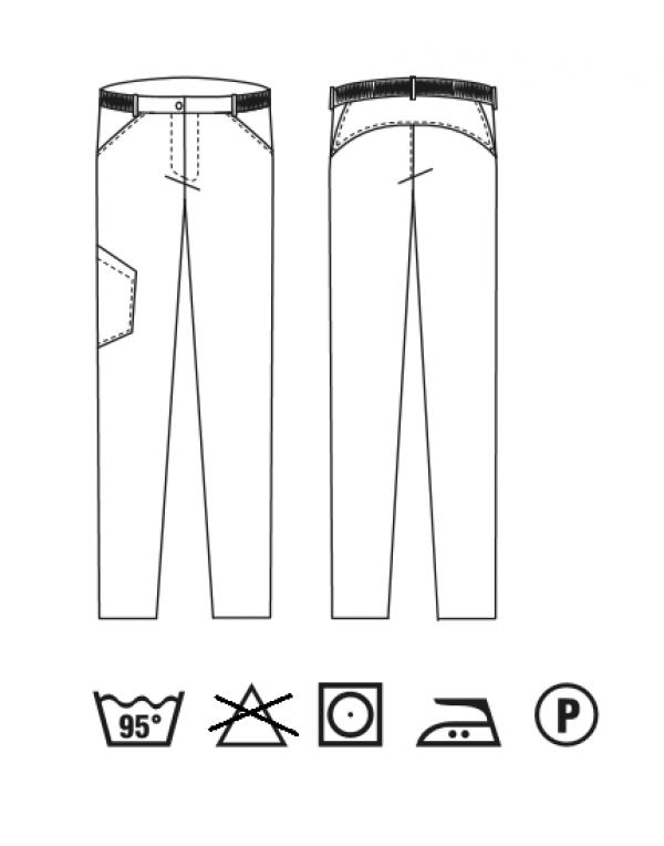 Pantalon bărbaţi ELIAS tencel