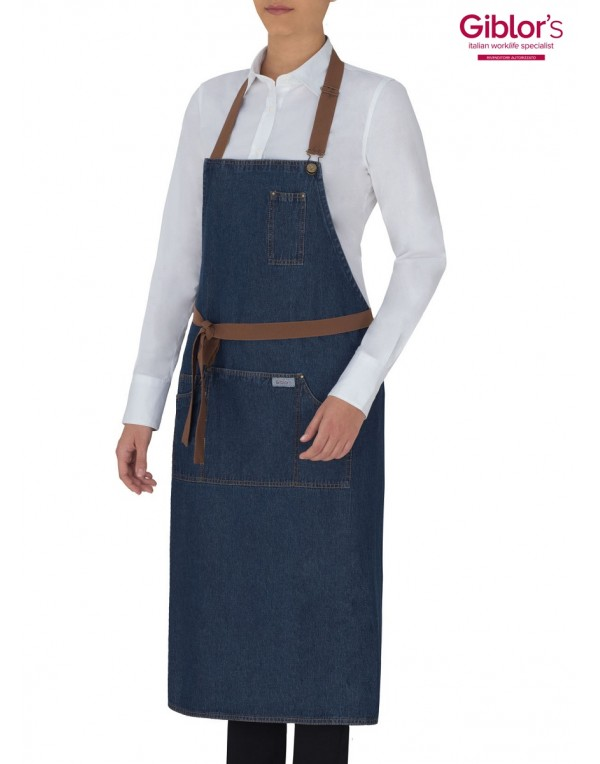 Şorţ DOUGLAS blue jeans